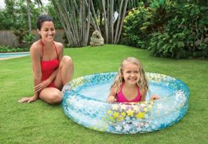 """small Inflatable kids Swimming Pool 45"""""""" x 10"""""""""""