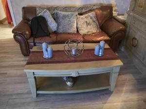 Coffee Table in limed oak - ex furniture village by Mark