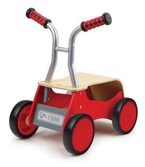 E HAPE Wooden Little Red Rider [Push & Pull] Toddler