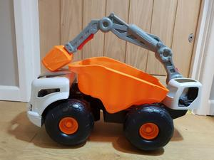 Little Tikes Monster Dirt Digger Dumper Grabber Crane VGC