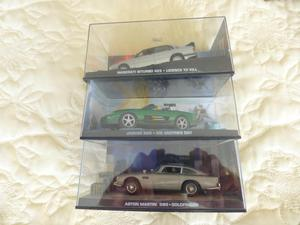 JAMES BOND 007 SET O 3 CAR COLLECTABLES