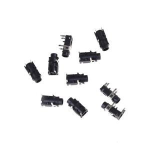 10 Pcs PCB Panel Mount 4 Pin mm Female Socket Stereo