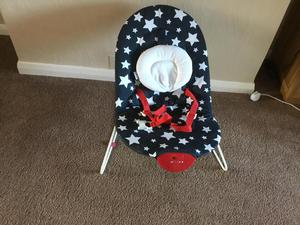 Baby bouncer chair musical