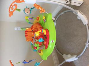 Jumperoo - roaring rainforest - Fisher Price