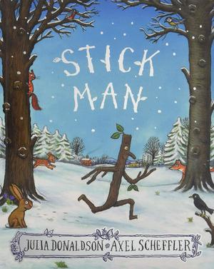 Stick Man By Julia Donaldson Paperback Book New