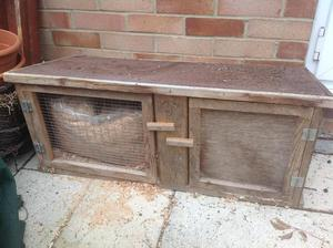 Guinea Pig / Small Rabbit Hutch For Sale