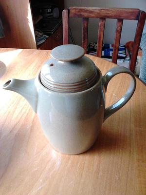 Denby camelot coffee pot and souffle dish