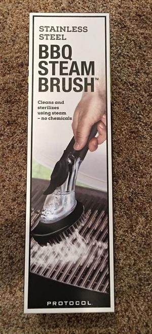 **BRAND NEW** Stainless Steel BBQ Grill STEAM BRUSH~~~~Proto