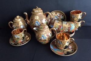 Satsuma Ware Tea Set