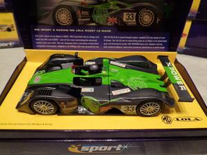 Scalextric CA MG LOLA Le Mans  No.33 Ltd Ed NEW Fly