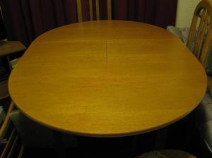DINING TABLE and 4 High Back Chairs (Like New - Must be