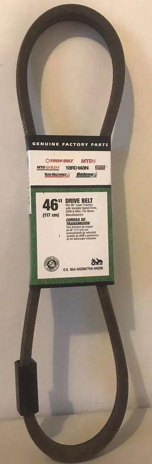 "Lawn Tractor 46"" Drive Belt OEM"