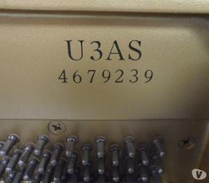 Yamaha U3AS Upright Piano