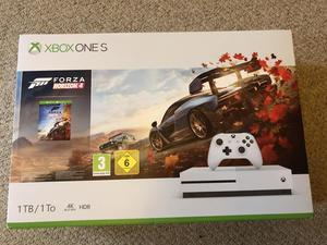 XBOX ONE S (new/sealed) inc FORZA