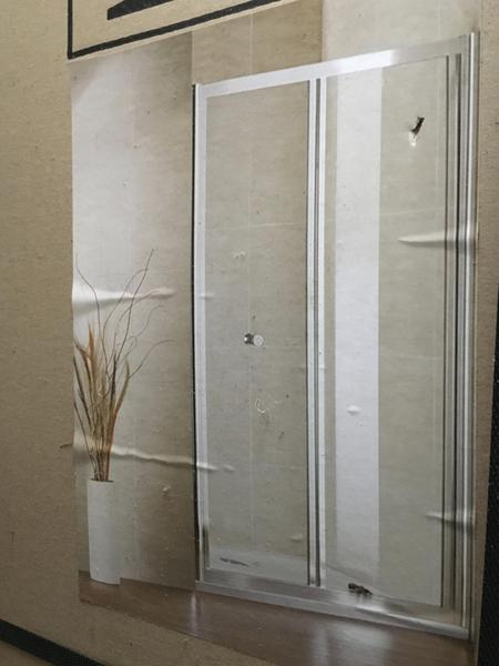 Bath Shower Screens + tray +2 shower Wall panel +Corner trim