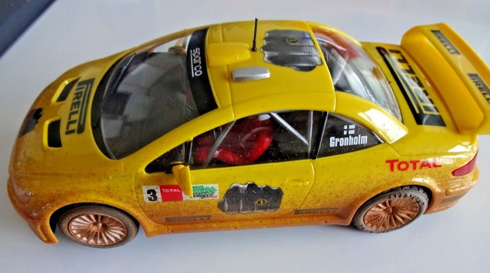 "NINCO  SLOT CAR PEUGEOT 307 WRC #3 PIRELLI ""MUD"""