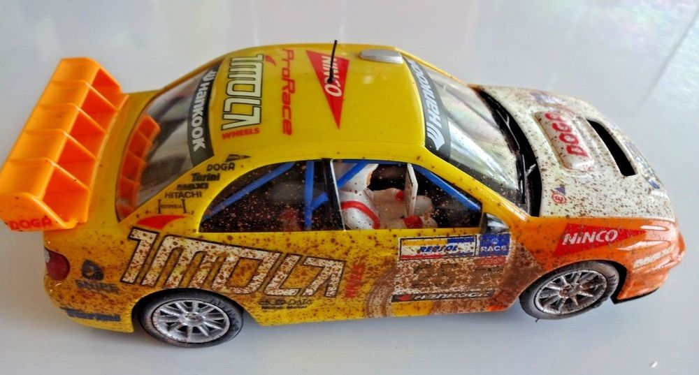 "NINCO  SLOT CAR SUBARU IMPREZA #25 ""IMOLA"" MUD MB BARRO"