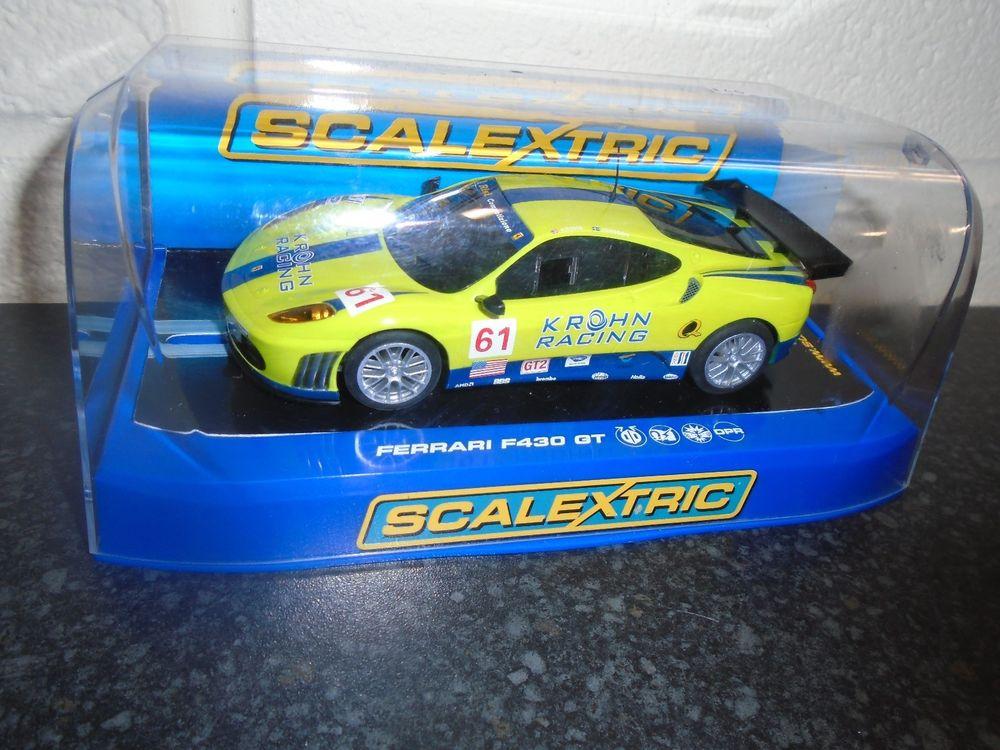 Scalextric C Ferrari F430 GT2 KROHN Racing #61 dpr m/b