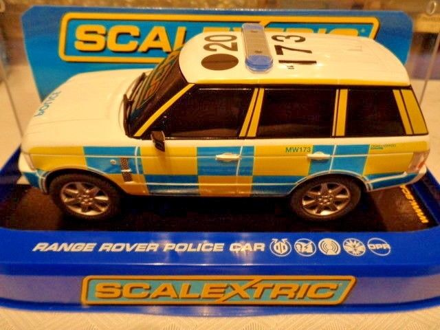 Scalextric C RANGE ROVER POLICE CAR Working Lights Siren