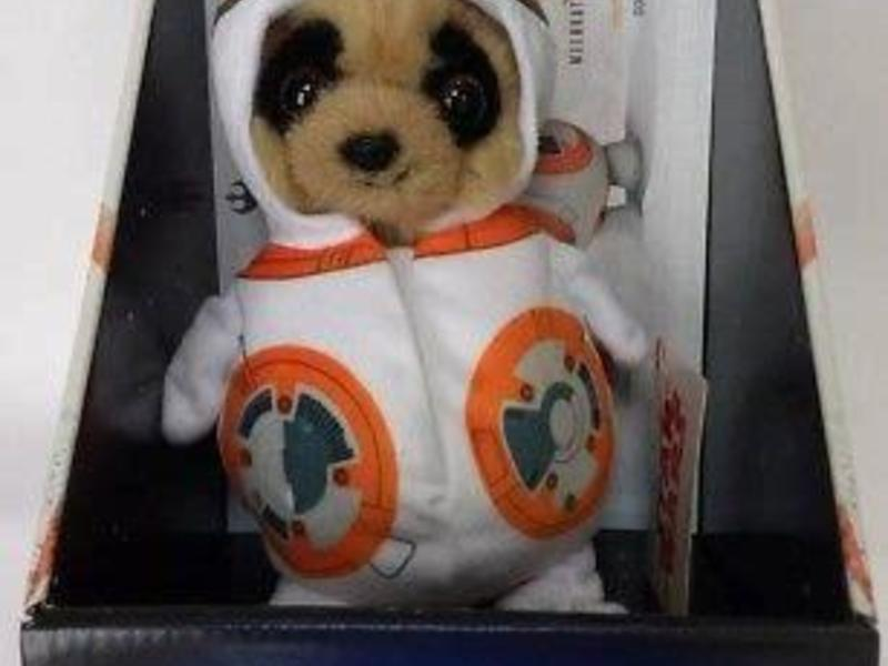 STAR WARS OLEG BB8 PLUSH TOY WITH CERTIFICATE - Meerkat Soft