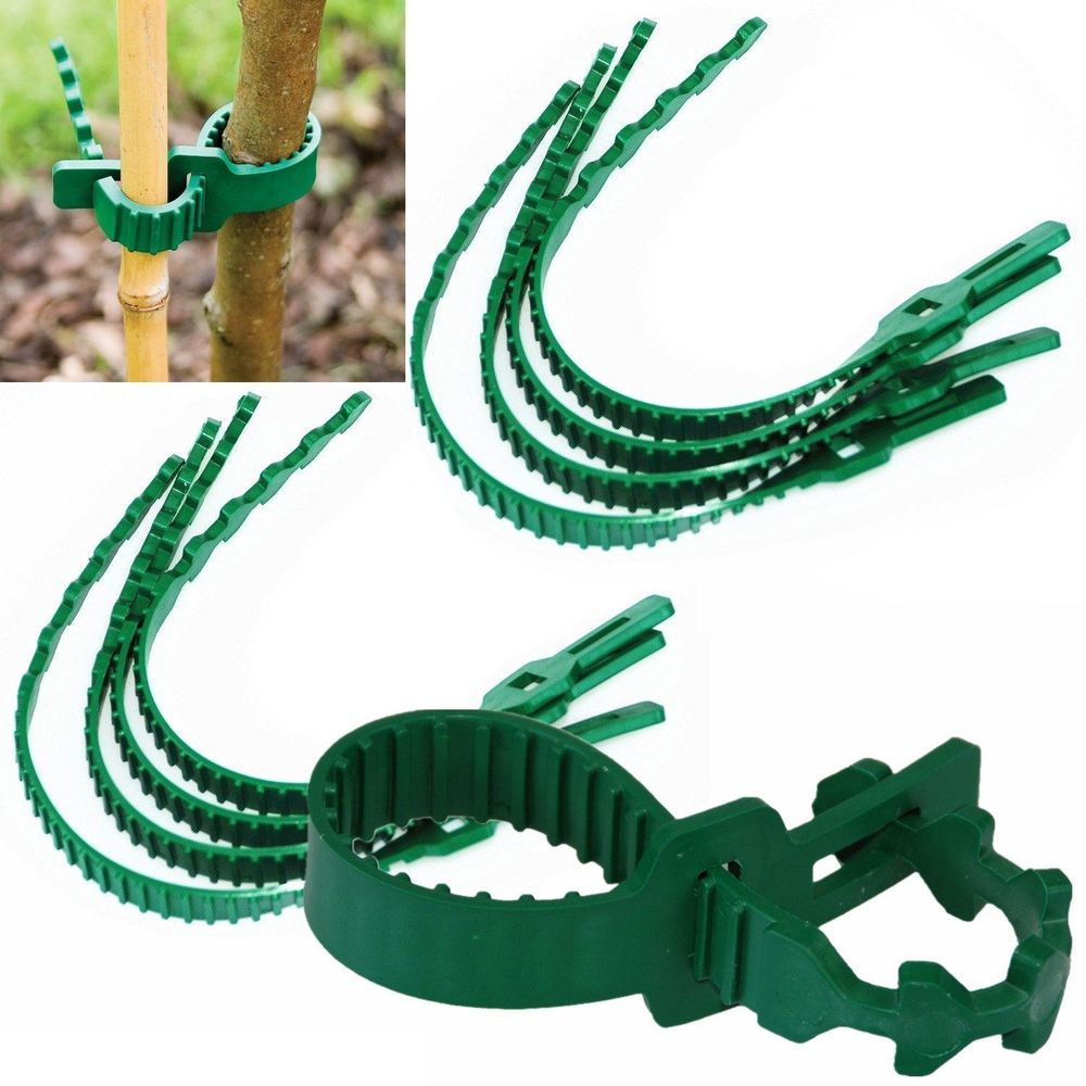 8 Pieces Strong Heavy Duty Soft Rubber Interlock Gardening