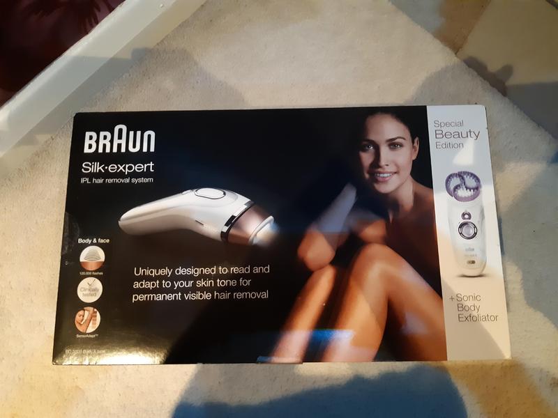 Braun hair removal system brand new