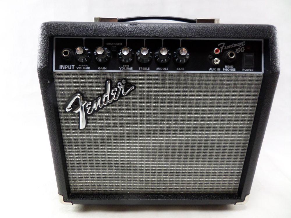 Guitar Amplifier Fender Frontman 15G Amp 15W Electric Guitar