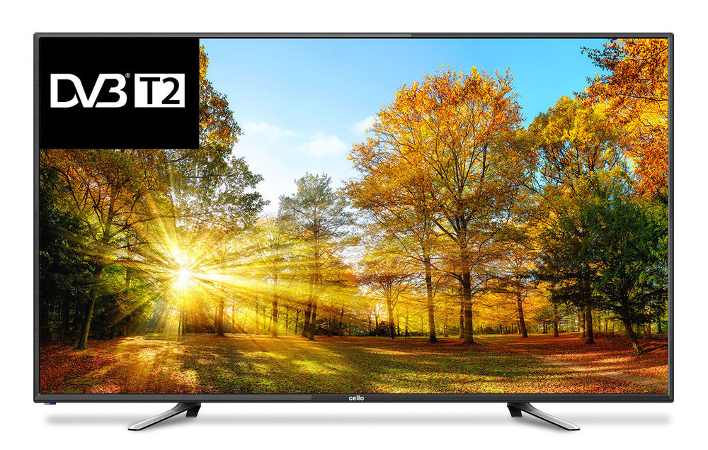 "Cello CDVBT2 LED TV 127 cm (50"") Full HD Black"