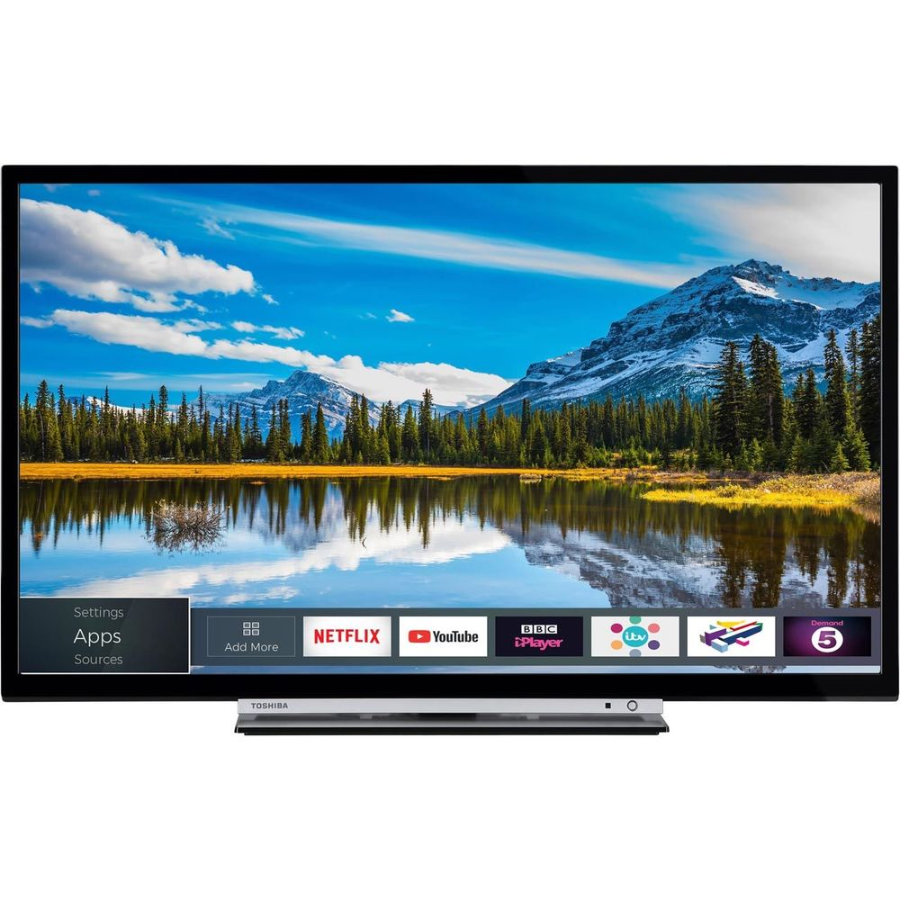 Toshiba 32WDB 32 Inch Smart LED TV 720p HD Ready 3 HDMI