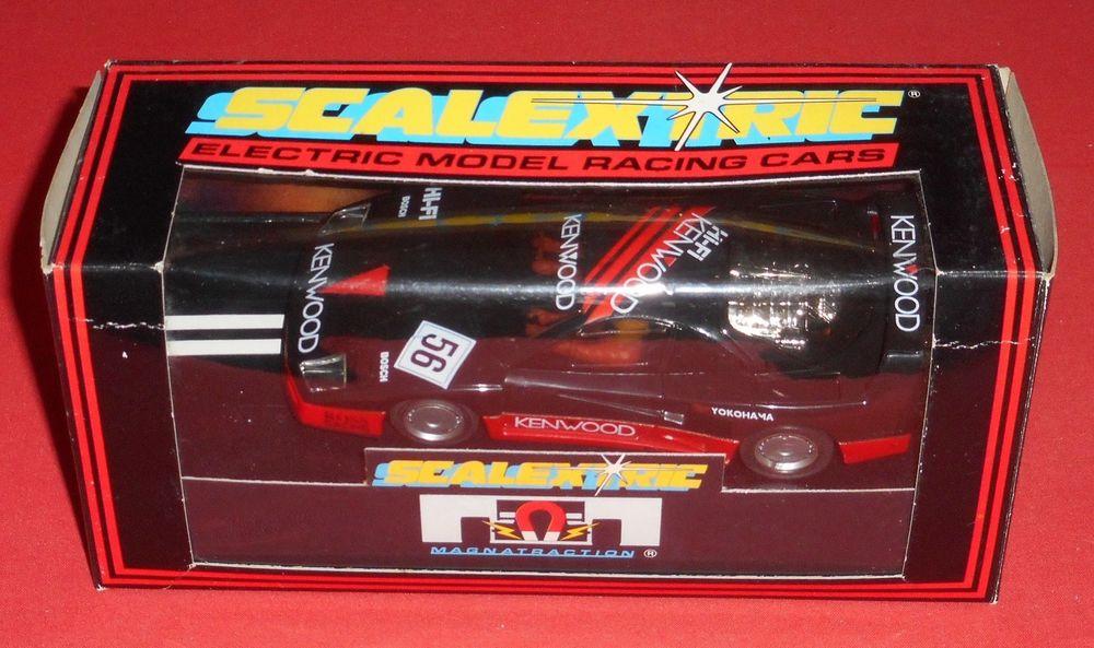 "C590 Scalextric Ferrari F40 "" Kenwood "" New Old Stock"