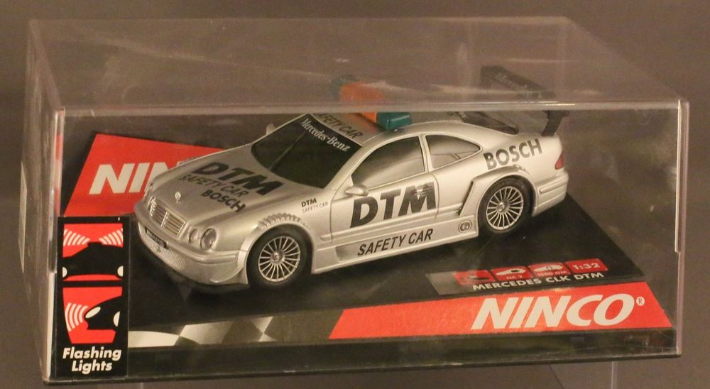 "NINCO  SLOT CAR MERCEDES CLK DTM 2 SAFETY CAR"" MB"
