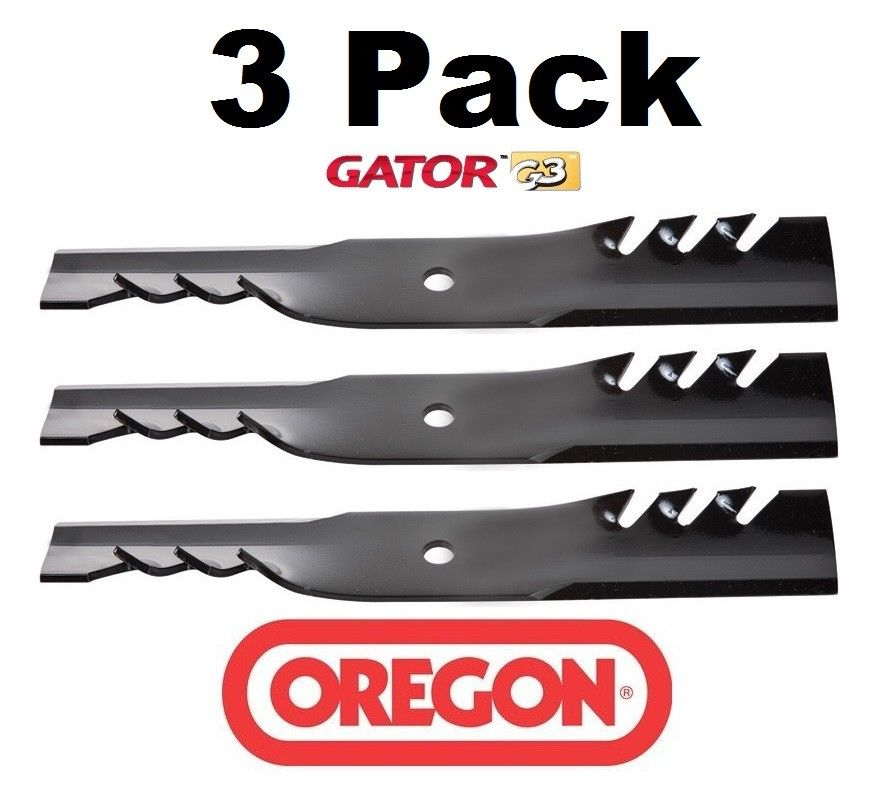 3 Pack Oregon  Mower Blade Gator G3 Fits Dixon