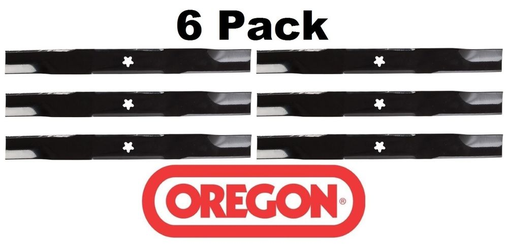 6 Pack Oregon  Mower Blade Fits Dixon