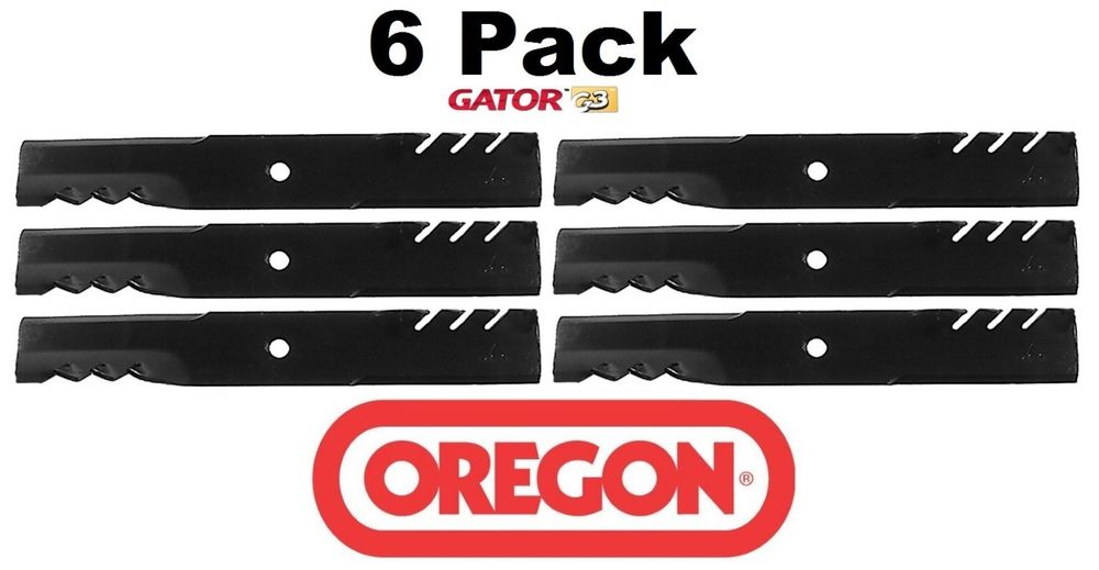 6 pack Oregon  Mower Blade Gator G3 Fits Dixon