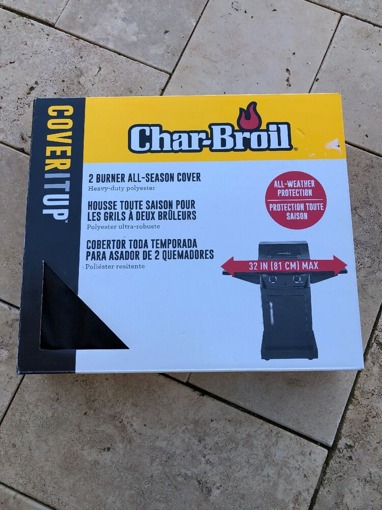 All-Season Cover Protector Grill Gas BBQ Char Broil 2 Burner