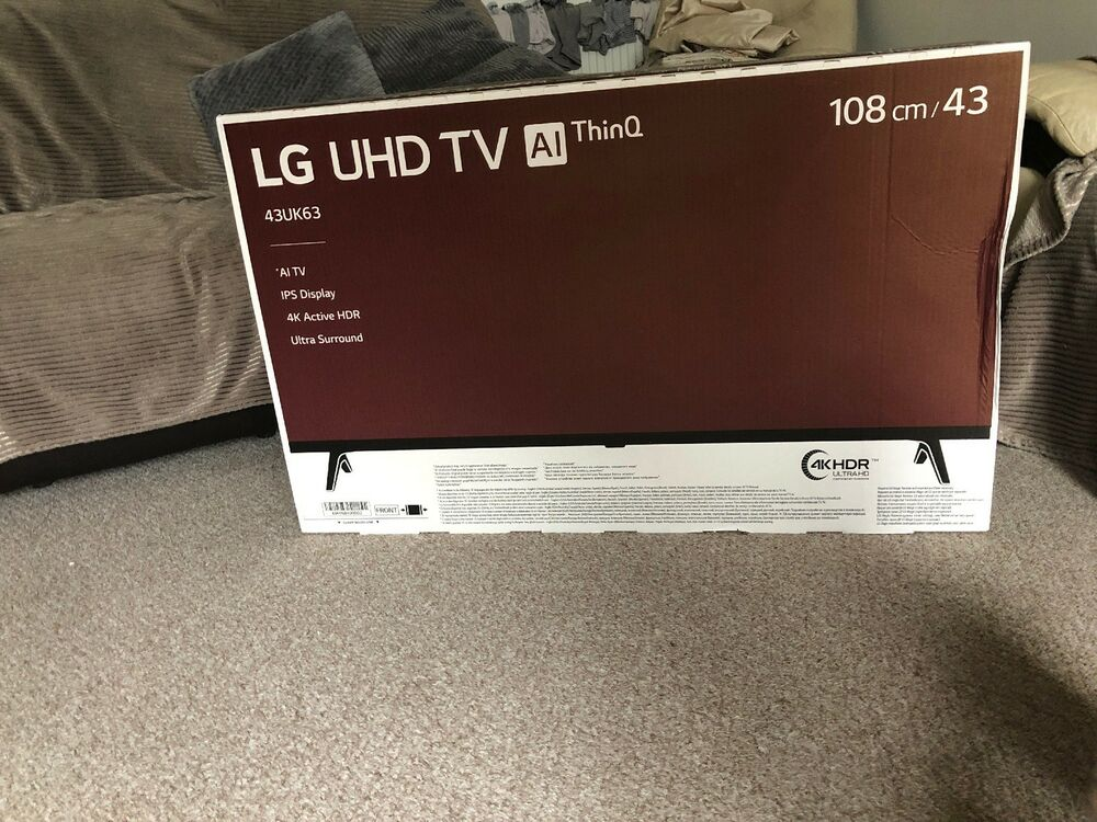 "LG 43UKMLB 43"" UHD 4K LED Smart TV AI ThinQ Netflix And"