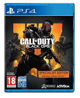 Call of Duty Black Ops 4 PS4 Specialist Edition Brand New & Sealed