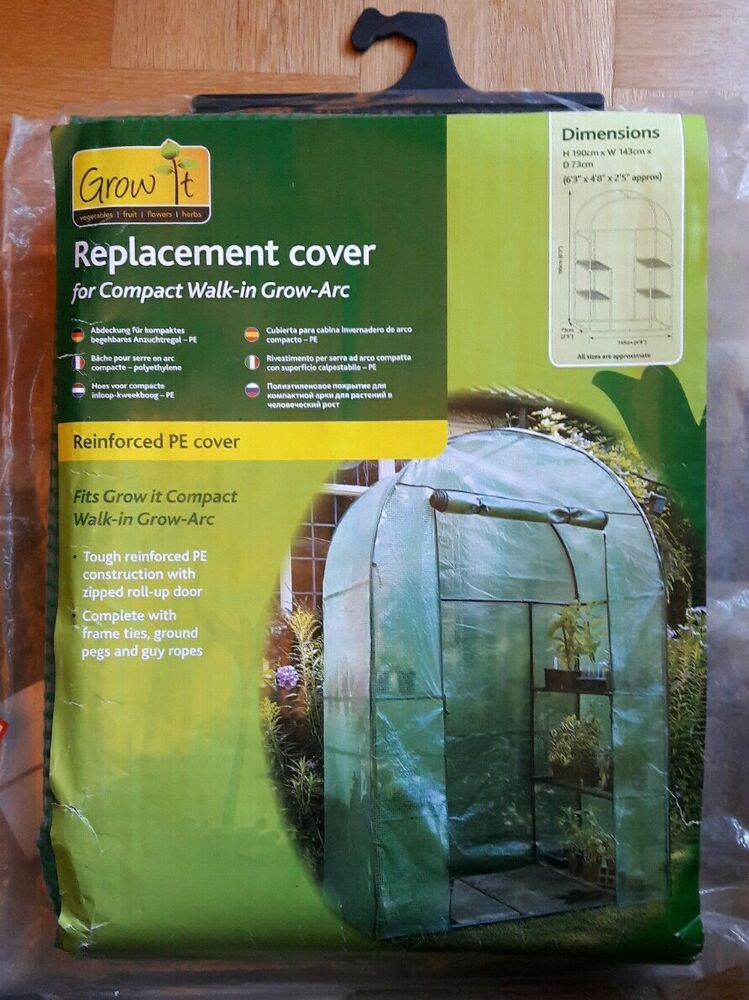 Grow it Walk-in Arc Heavy Duty Replacement Medium Cover