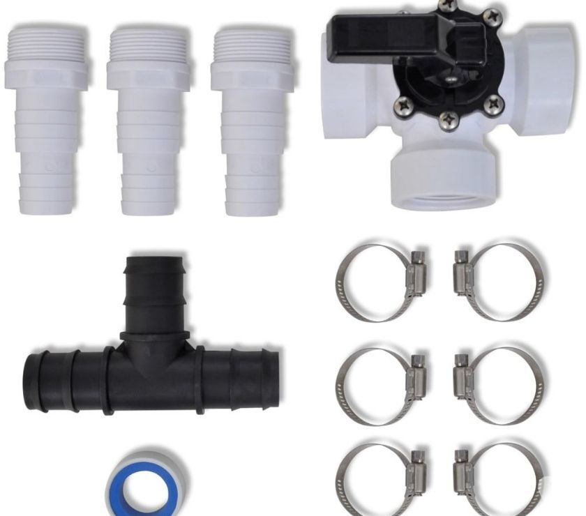 vidaXL Bypass Kit for Pool Solar Heater  New