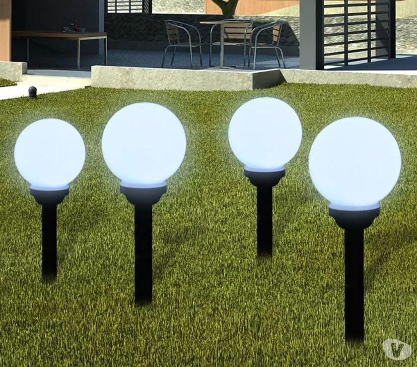 vidaXL Outdoor Path Garden Solar Lamp Path Light  New