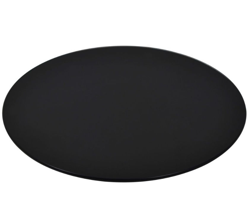 vidaXL Table Top Tempered Glass Round 500 mm  New