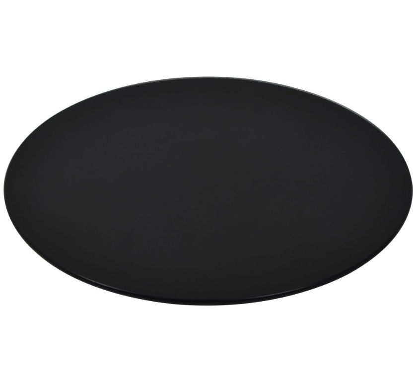 vidaXL Table Top Tempered Glass Round 800 mm  New