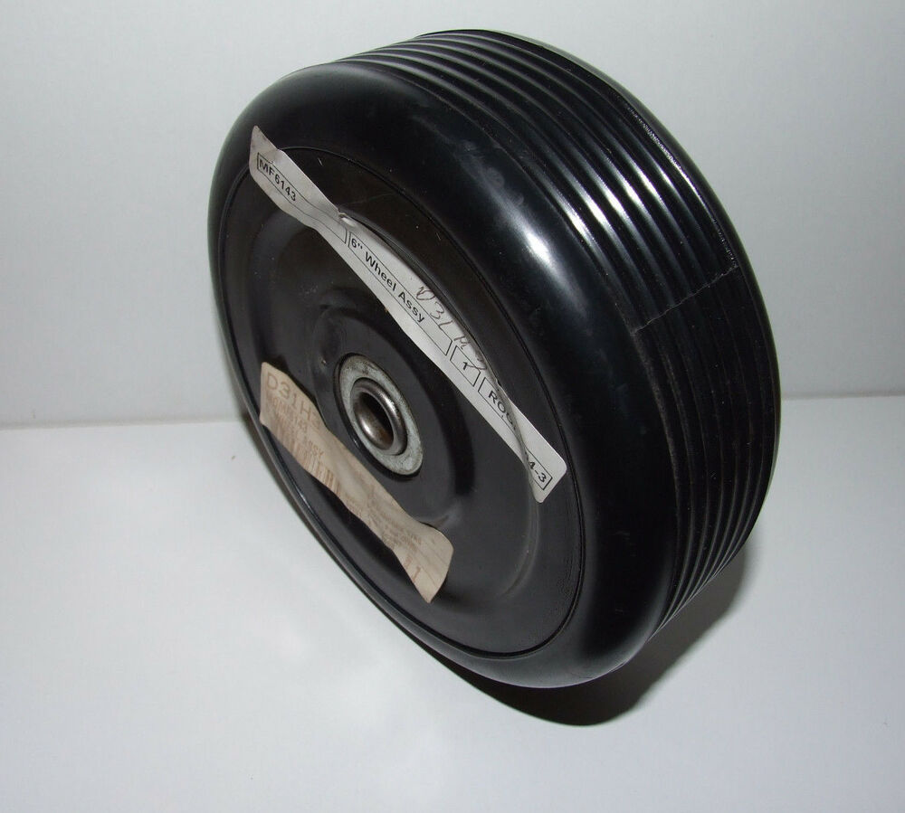 "GENUINE MOUNTFIELD LAWNMOWER 6"" WHEEL ASSY MF / MF"