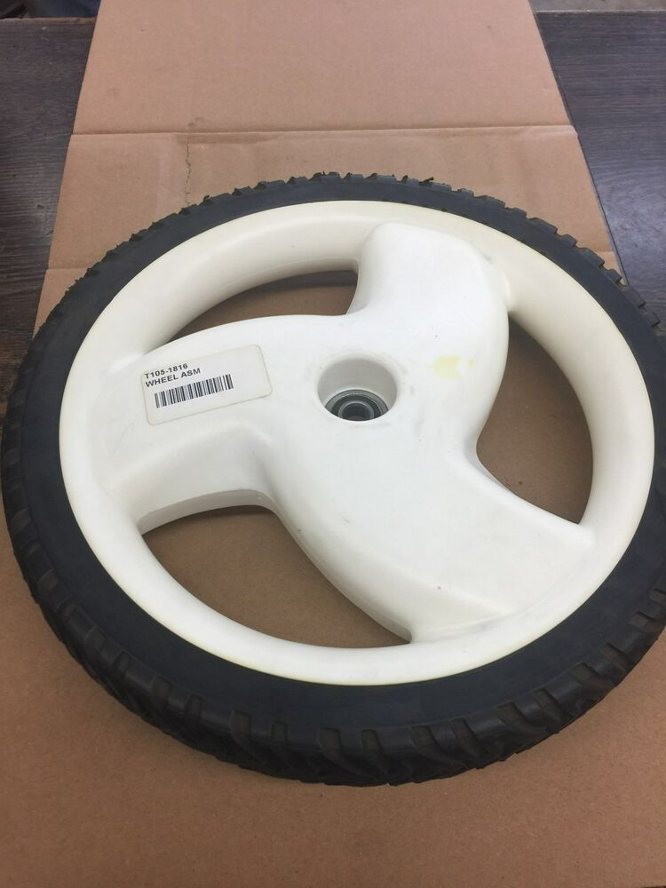 "OEM Rear Wheel FITS Toro "" Recycler"