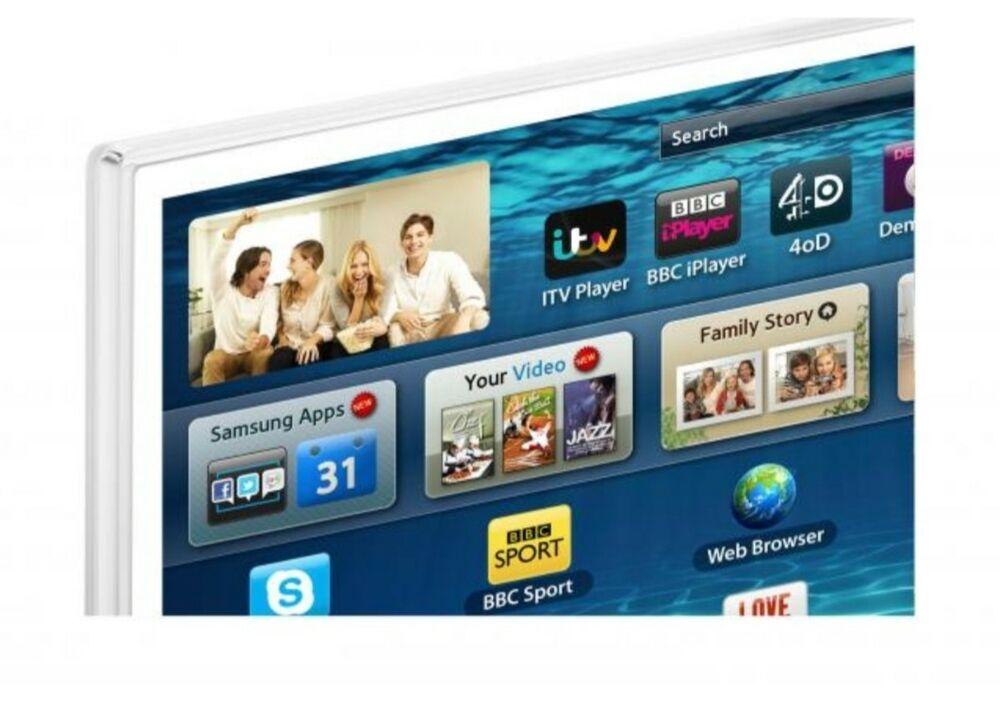 SAMSUNG Series 6 SMART TV LED HD 3D WHITE