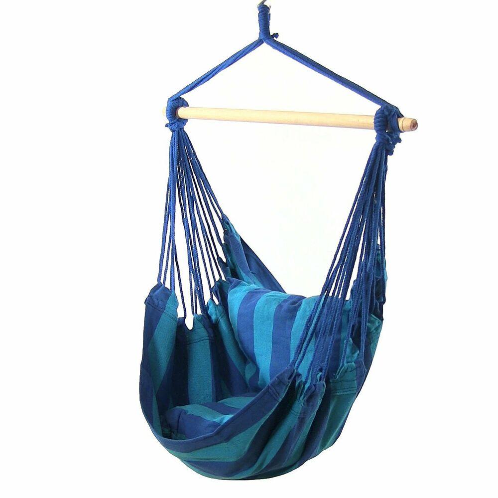 Sunnydaze Indoor-Outdoor Hanging Hammock Swing and 2