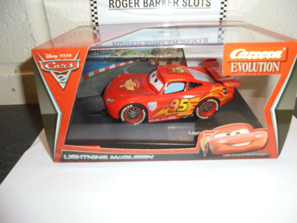 Carrera Evolution  Disney Pixar Lightning Mcqueen BNIB
