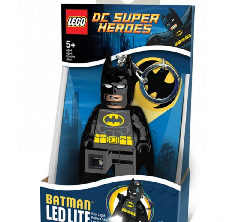 LEGO DC SUPERHEROS BATMAN KEYLIGHT KEYRING £ PLUS P&P