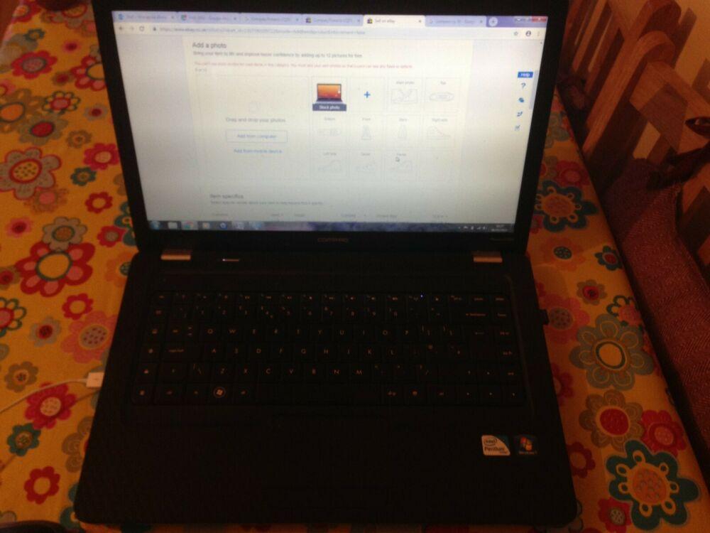 """Compaq Presario CQ"""" Laptop Intel Pentium T"""