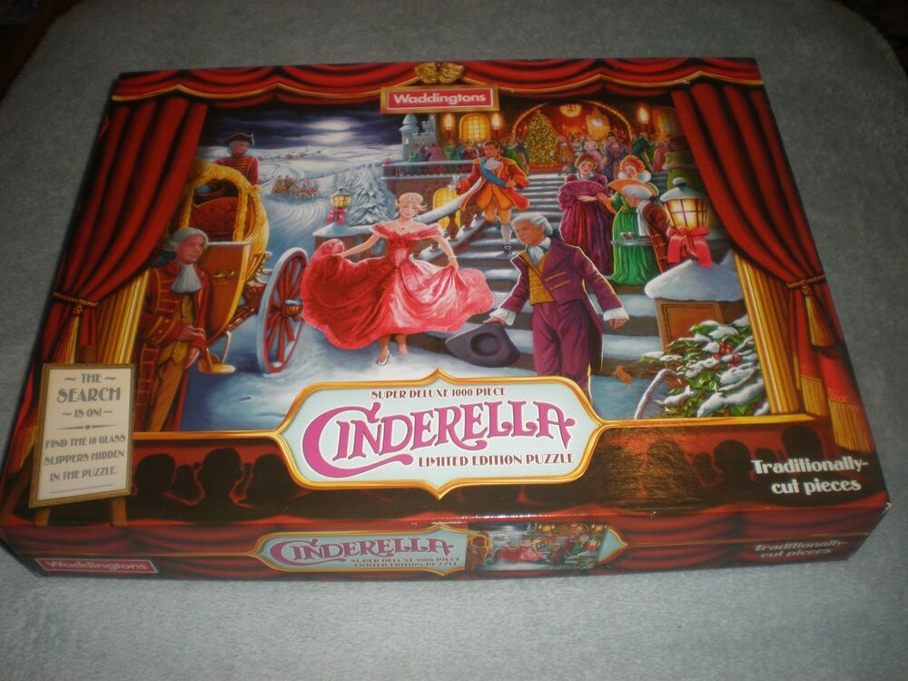 "Waddingtons  piece jigsaw puzzle "" Cinderella "" limited"